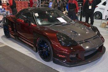 Карбоновый Toyota MR-S от мастерской Osaka Trial