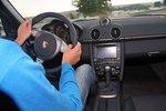 ... ультраточное рулевое управление.