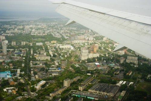 Хабаровск сверху.