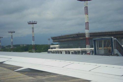Аэропорт Хабаровска.