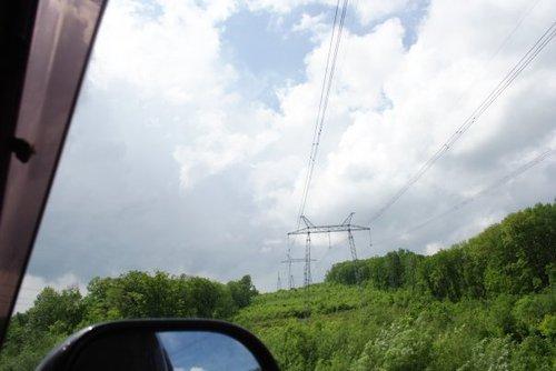 Вырубка леса под электрические двуноги впечатляет.