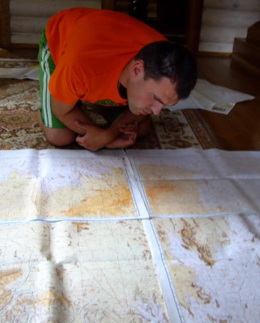 Рассматривать карты Сахары начали еще в августе 2009 г. (за пять месяцев до поездки).