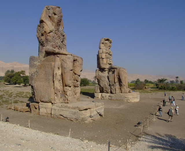 Западный берег Нила (Луксор).