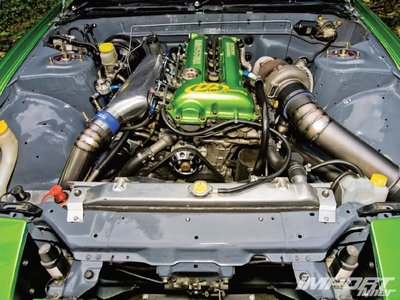 Двигатель SR20DET