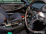 Интерьер Nissan 180SX
