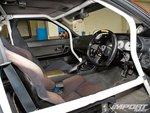 Nissan Skyline R32. Интерьер