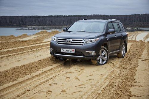 Toyota Highlander на тест-драйве Drom.ru