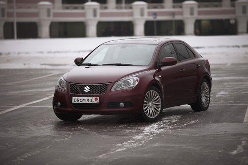 Suzuki Kizashi на тест-драйве Drom.ru