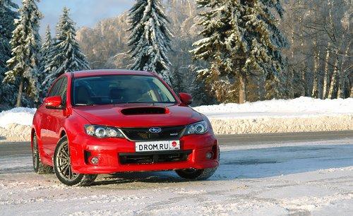 Обновленная Subaru Impreza WRX на тест-драйве Drom.ru