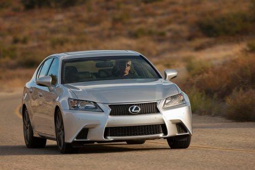 Стиль GS демонстрирует новый облик Lexus.