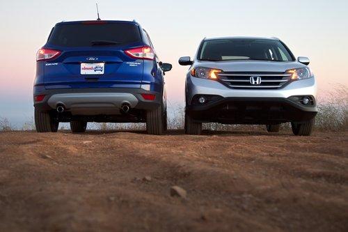 Ford Escape против Honda CR-V