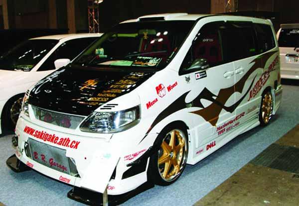 Nissan Serena Sakigake
