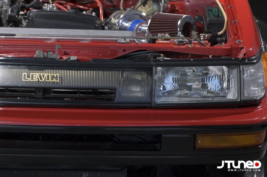 Toyota Corolla Levin 1985 года