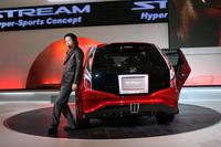 Вот такого странного вида японцы презентуют новую Honda